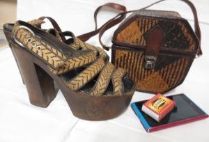 Käsilaukku kengät Vaula 1976