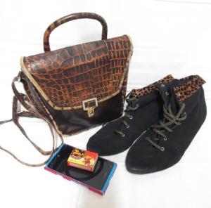 Käsilaukku kengät Vaula 1988