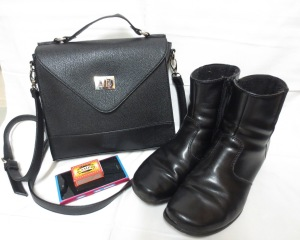 Käsilaukku kengät Vaula 2014